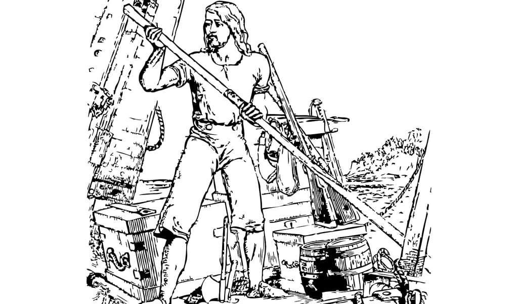 Comment s'appelle le bateau de Robinson Crusoé ?